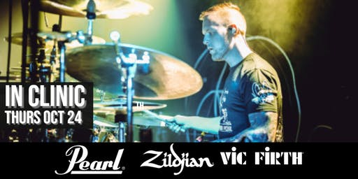 Dan Presland Drum Clinic at Sky Music - Zildjian, Pearl + Vic Firth