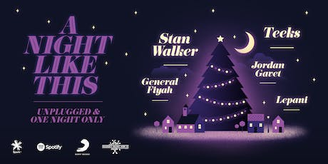 """Sony Music, Spark & Spotify and Angus Muir Presents.. """"A Night Like This"""" tickets"""