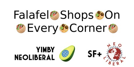 Falafel shops on every corner tickets