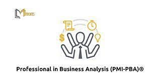 Professional in Business Analysis (PMI-PBA)® 4 Days Virtual Live Training in Amman