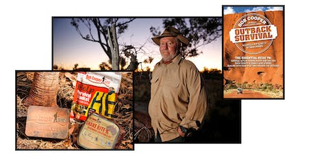 Outback Survival and Snake Awareness Expert Bob Cooper tickets