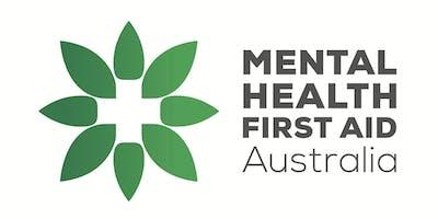Mental Health First Aid 8 - 15th November 2019