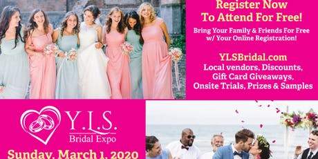 Y.L.S. Bridal Expo -  Sun, March 1 - West Chester Quality Inn & Suites C.C. tickets
