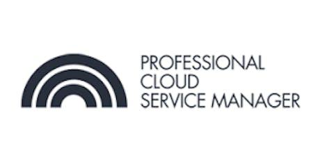 CCC-Professional Cloud Service Manager(PCSM) 3 Days Virtual Live Training in Rome biglietti