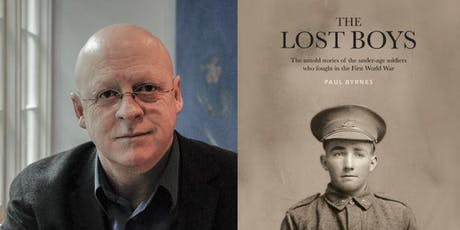 Author Talk: Paul Byrnes - The Lost Boys tickets