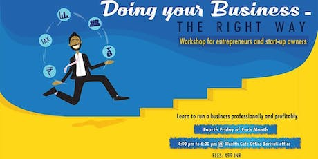 Doing your Business The right way tickets