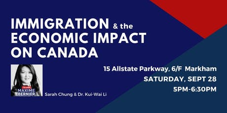 Immigration & The Economic Impact on Canada  tickets