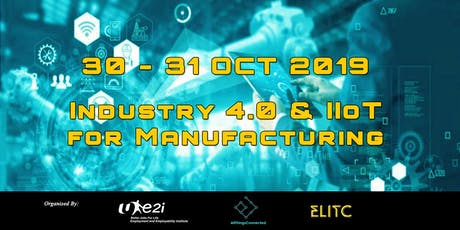 Industry 4.0 & Industrial IoT for Manufacturing Masterclass tickets