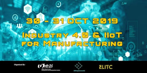 Industry 4.0 & Industrial IoT for Manufacturing Masterclass