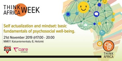 Self actualization and mindset: psychosocial well-being.