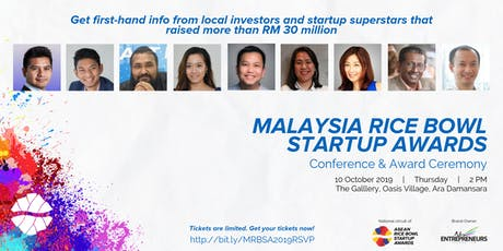 Malaysian Rice Bowl Conference & Award Ceremony tickets