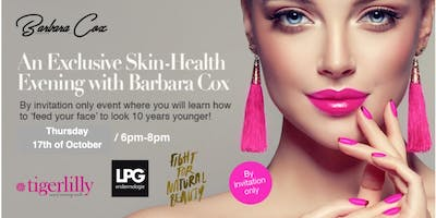 "Skin Health - ""Feed Your Face"" Nutrition Talk with Barbara Cox"
