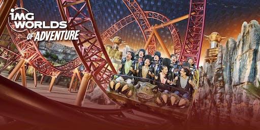 Fall Break @ IMG World of Adventure in Dubai!