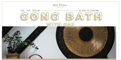 Gong Bath with Raj