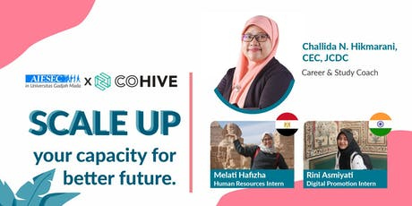AIESEC UGM x COHIVE : Scale Up tickets