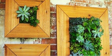 Succulent Wall Garden tickets