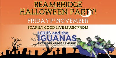 Halloween Party with Louis & The Iguanas
