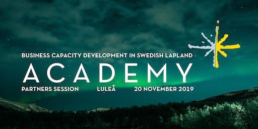 PARTNER SESSION, Academy of Swedish Lapland
