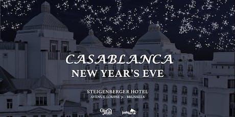 "Booking New Year's Eve ""Casablanca"" Gala Dinner ஜ Steigenberger Wiltcher's tickets"