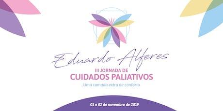 III Jornada Eduardo Alferes de Cuidados Paliativos ingressos