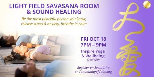 Light Field Savasana Room & Sound Healing