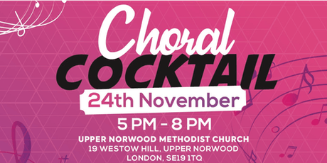 Choral Cocktail tickets