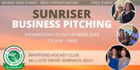 Free Networking Business Sunriser tickets
