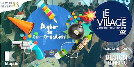 Atelier de co-création - Inno In Nevers #3 billets