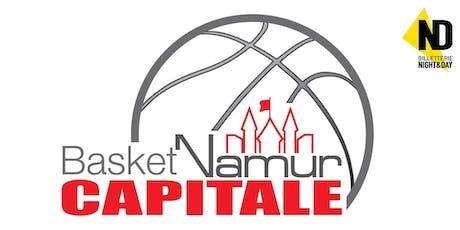 EUROCUP: Basket Namur Capitale - Cegled (H) billets