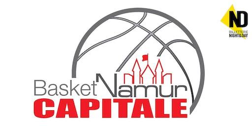 EUROCUP: Basket Namur Capitale - Cegled (H)