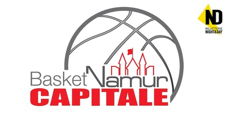 Basket Namur Capitale - Kortrijk Spurs  billets