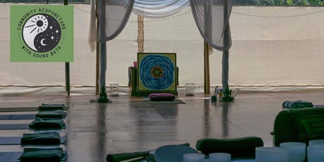 Community Acupuncture with Sound Bath (3.30pm 20th October 2019) tickets