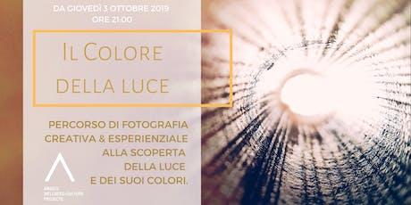 Il Colore della Luce - Fotografia Creativa & Esperienziale biglietti