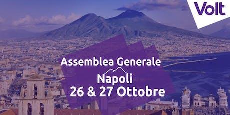Assemblea Generale di Volt Italia a Napoli biglietti