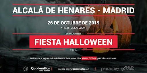 Fiesta Halloween en Pause&Play Quadernillos
