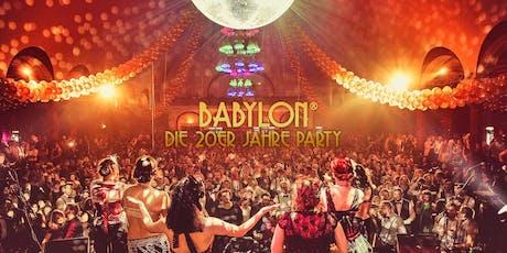BABYLON® - Die 20er Jahre Party Tickets
