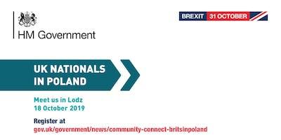 Community Connect - #BritsinPoland | Lodz