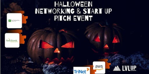 Halloween Networking & Startup Pitch Event