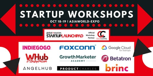 2-Day Startup Workshops @ Startup Launchpad