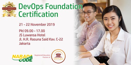 DevOps Foundation Training Jakarta, November 21st 2019