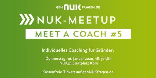 Meet a coach #5 | NUK-Meetup
