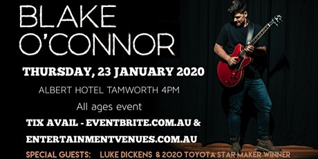 Blake O'Connor TCMF The Albert Hotel tickets