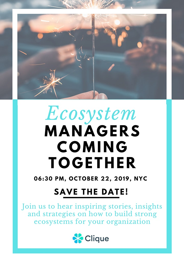 Ecosystem managers coming together! image