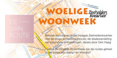 Designroute 1 Woelige WoonWeek Zeeheldenkwartier woe 30 okt tickets