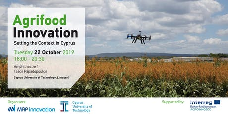Agrifood Innovation - Setting the Context in Cyprus tickets