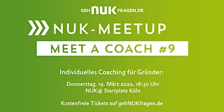 Meet a coach #9 | NUK-Meetup  Tickets