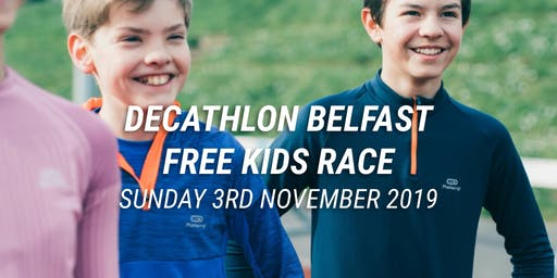 Decathlon KIDS FREE TO ENTER EVENT
