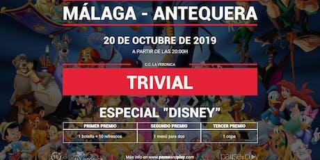 Trivial Especial Disney en Pause&Play La Verónica entradas