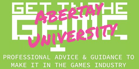 Get In The Game Careers Talks; Abertay University tickets