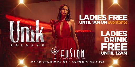 Unik Fridays at Fusion Lounge
